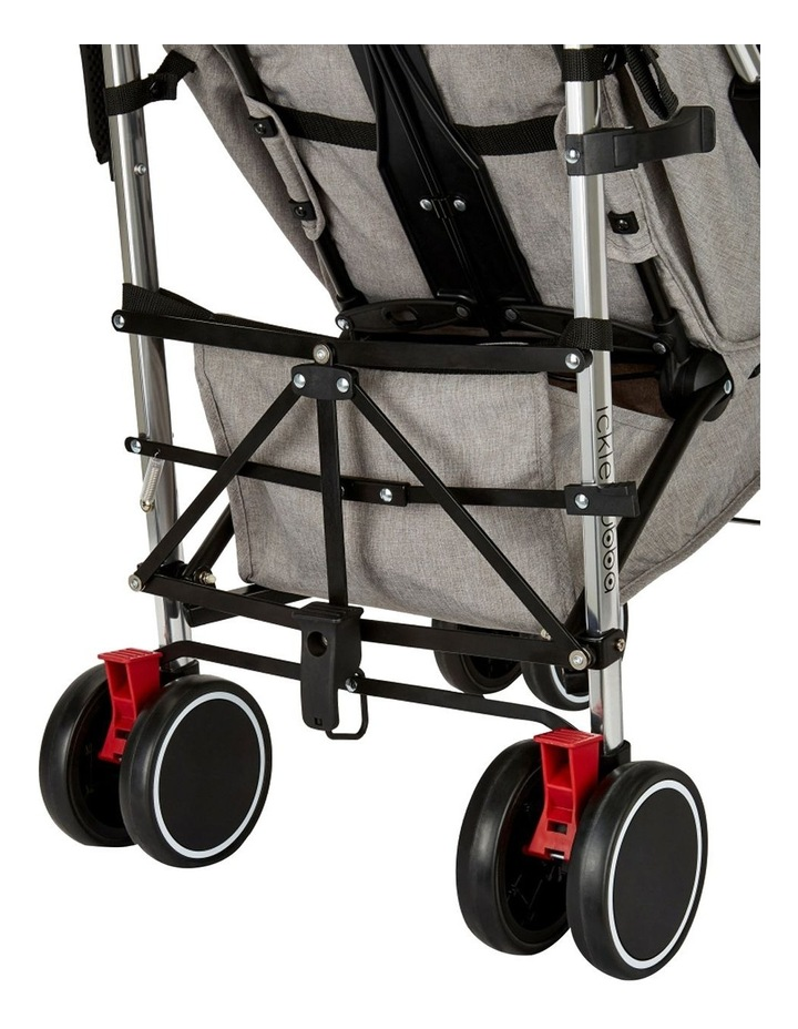 Ickle Bubba Discovery Stroller - Max Model (Upgrade including Footmuff & Cup Holder) image 3