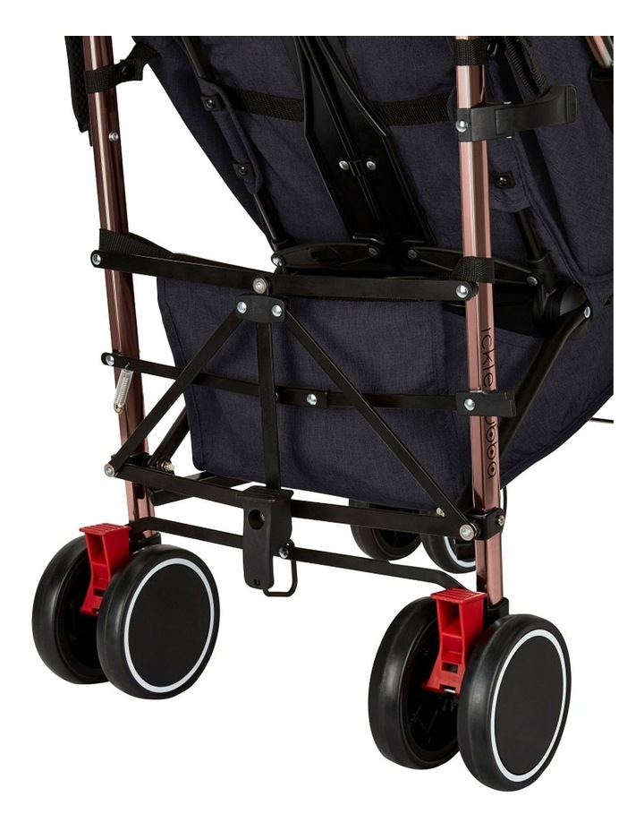 Ickle Bubba Discovery Stroller - Prime Model (inc. Footmuff, Cup Holder & Buggy Organiser) image 3