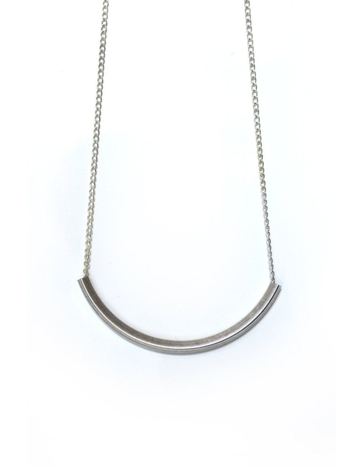 Curve Necklace [ Silver ] image 1