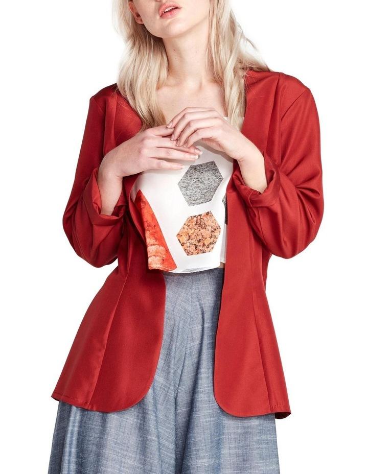 Ruby Tie Blazer image 1