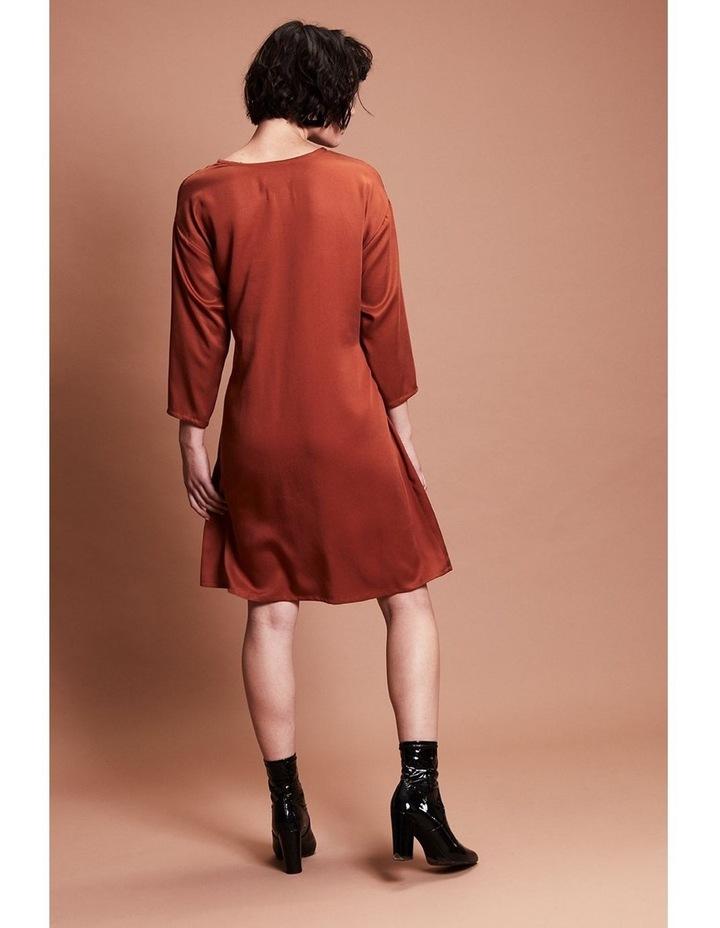 SAFFRON DRESS image 4