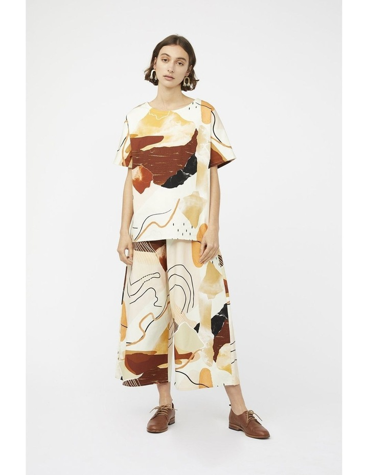 Classic Culottes In Desert Print image 3