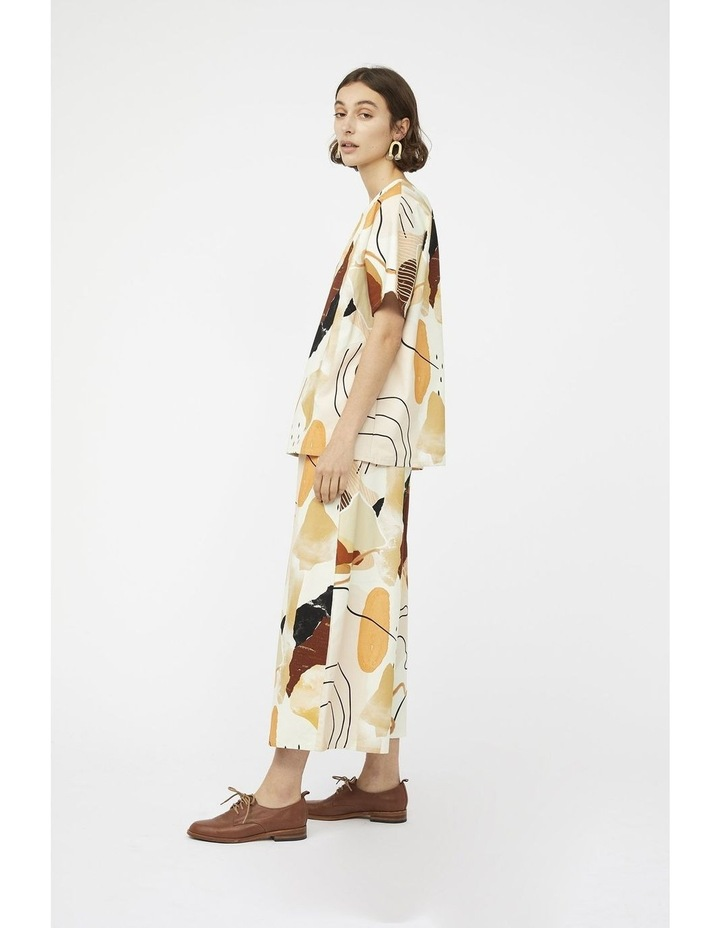 Classic Culottes In Desert Print image 4