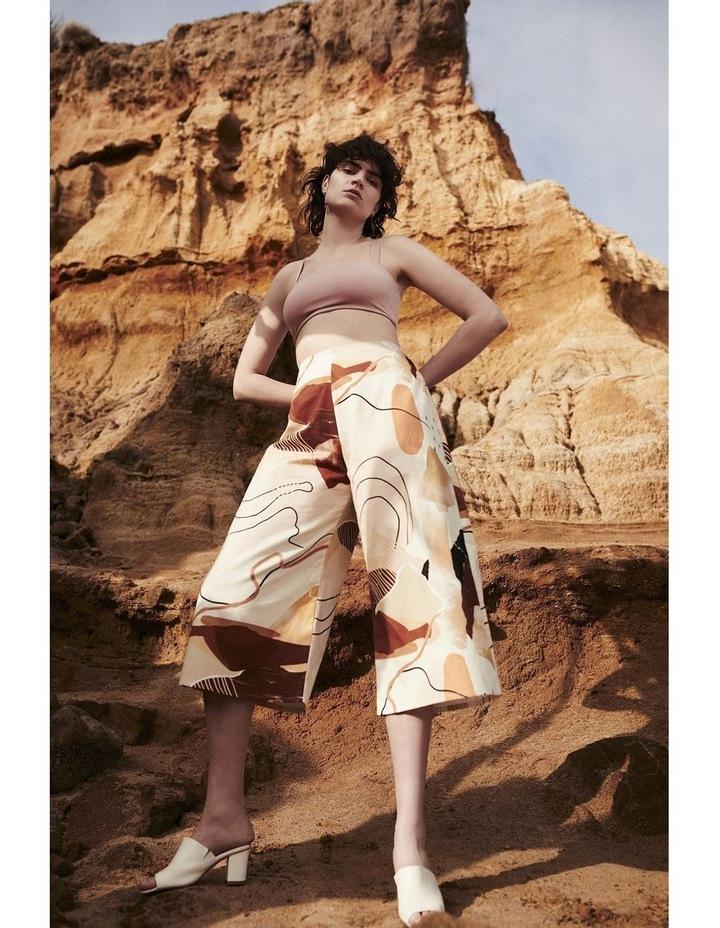 Classic Culottes In Desert Print image 6