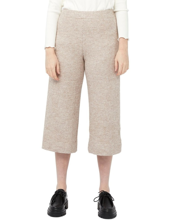 Travertine Pants (Beige Wool Blend) image 1