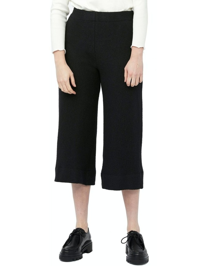 Mosaic Pants [ Black Wool Blend ] image 1