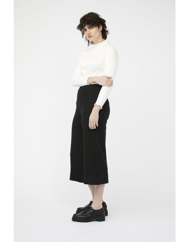 Mosaic Pants [ Black Wool Blend ] image 3