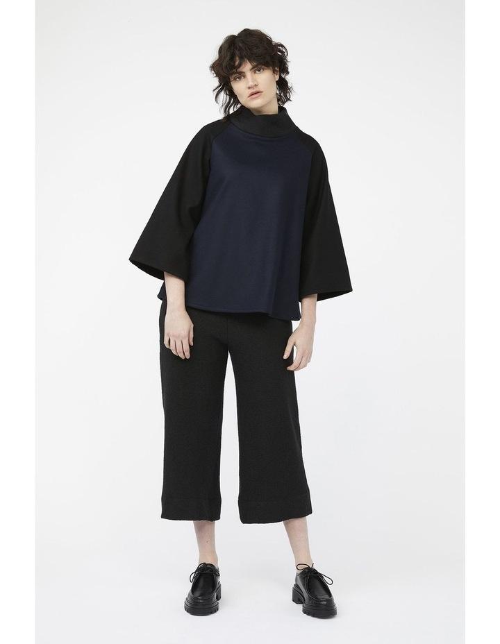 Mosaic Pants [ Black Wool Blend ] image 5