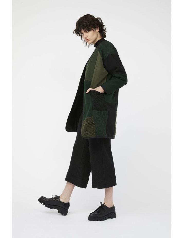 Mosaic Pants [ Black Wool Blend ] image 6