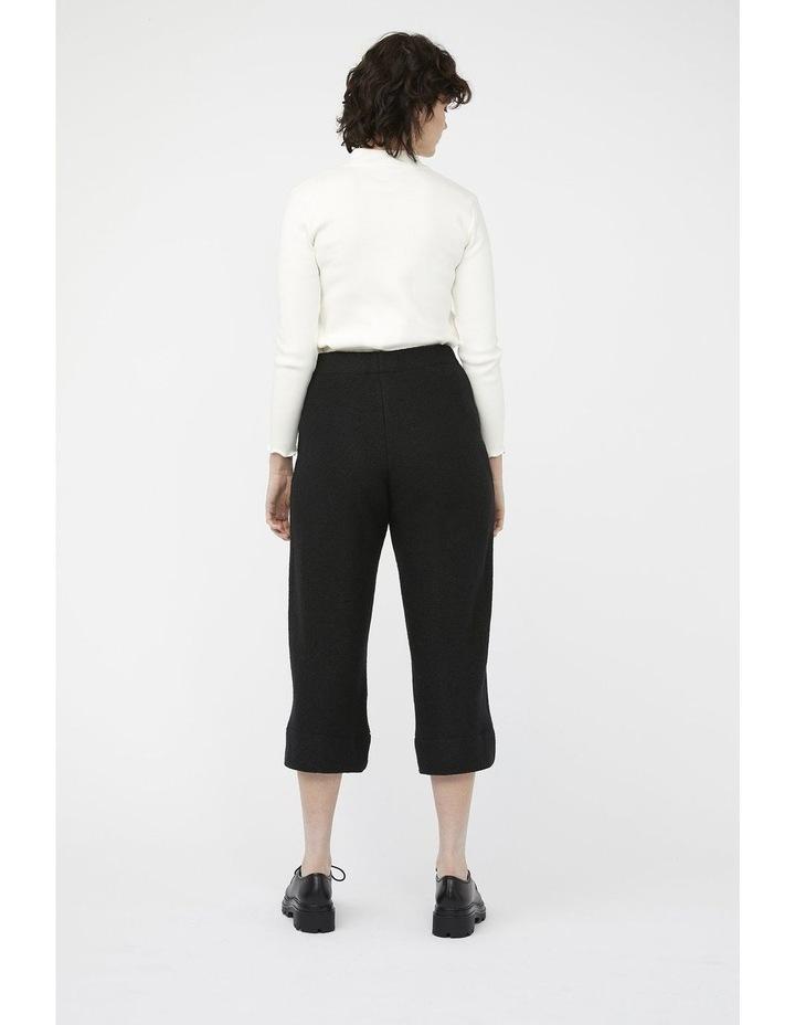 Mosaic Pants [ Black Wool Blend ] image 7