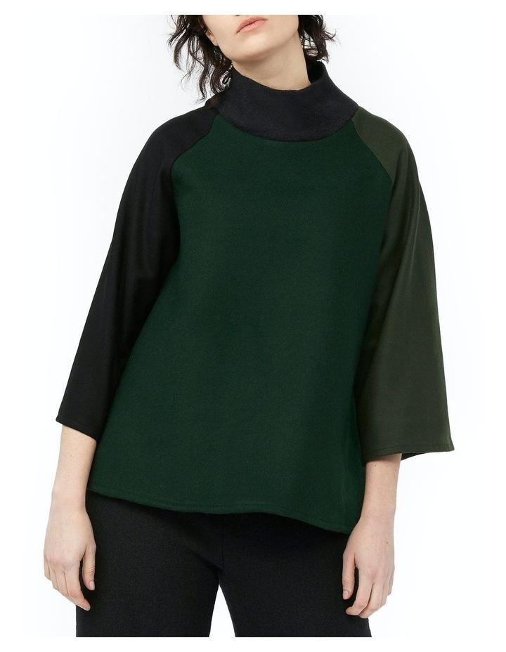 Mosaic Jumper [ Green / Black ] image 1