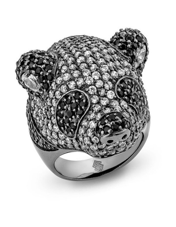 Menagerie Panda Ring image 1