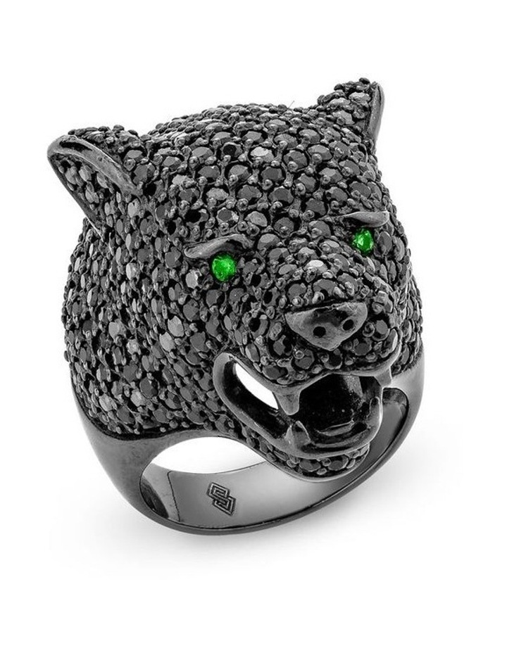 Menagerie Panther Ring image 1