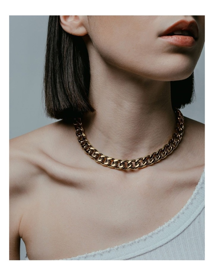 Transit Necklace - Gold image 4