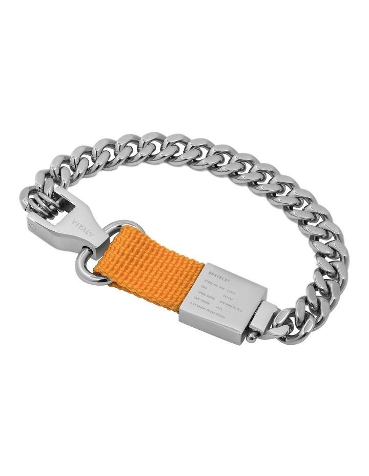 Composite - Bracelet Sterling Silver / Orange image 1