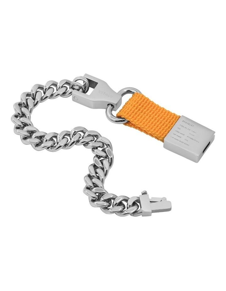 Composite - Bracelet Sterling Silver / Orange image 2