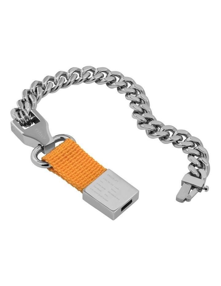 Composite - Bracelet Sterling Silver / Orange image 3