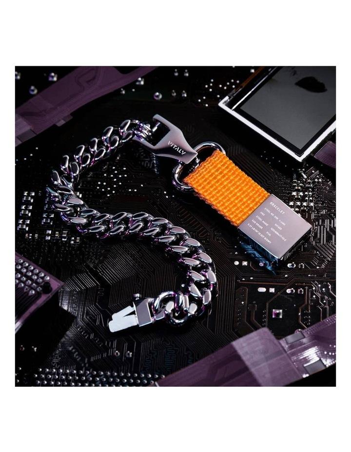 Composite - Bracelet Sterling Silver / Orange image 4