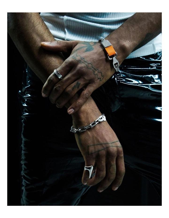 Composite - Bracelet Sterling Silver / Orange image 5