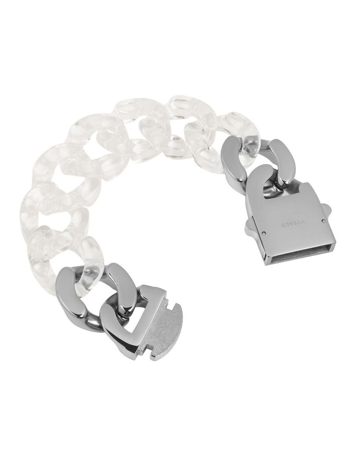 Static Bracelet Clear / Stainless Steel image 2