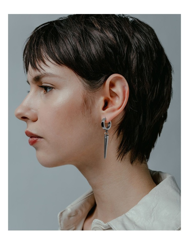 Resonator - Earring / Silver image 3
