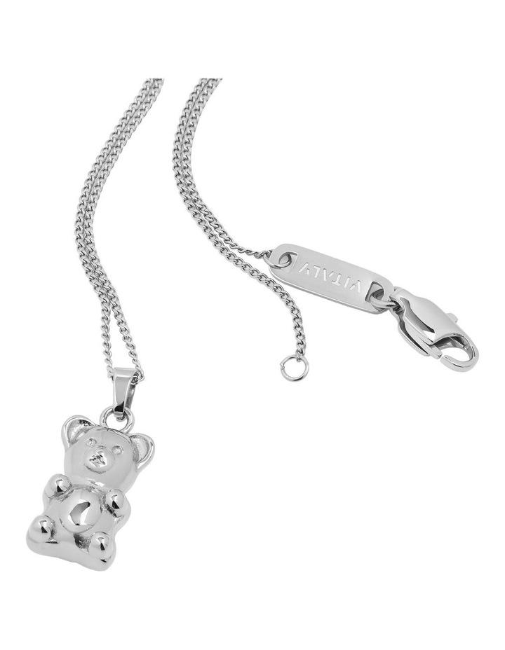 Gummy Bear Necklace - Silver image 1