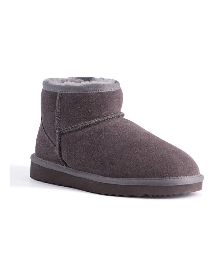 Short Sheepskin Ankle Boot - Grey image 1