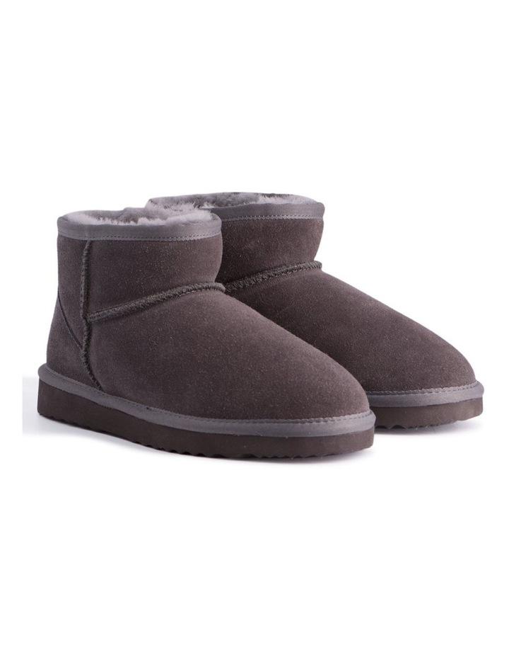 Short Sheepskin Ankle Boot - Grey image 2