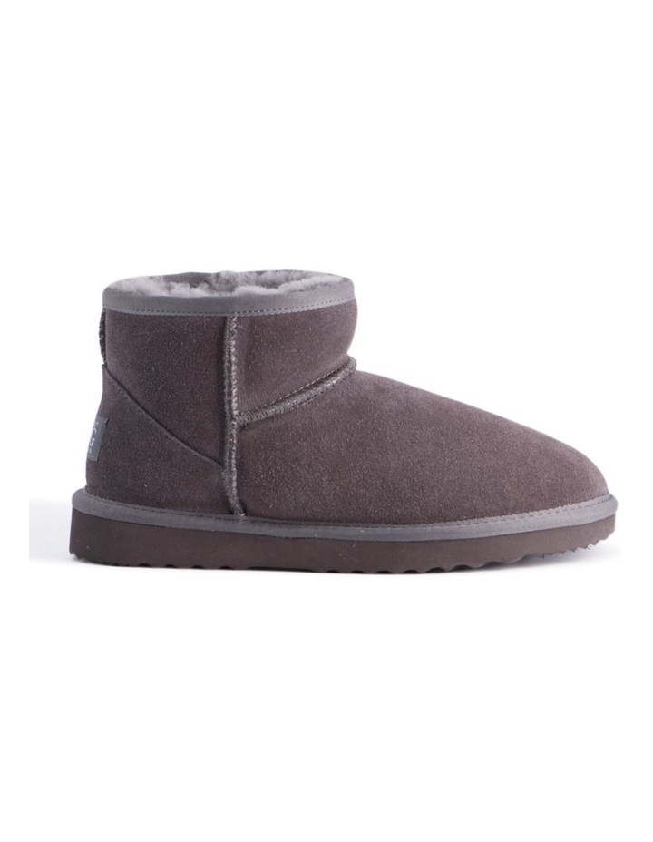 Short Sheepskin Ankle Boot - Grey image 7