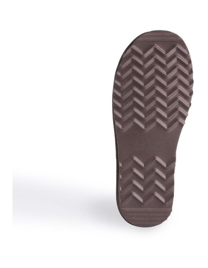 Short Sheepskin Ankle Boot - Chocolate image 3