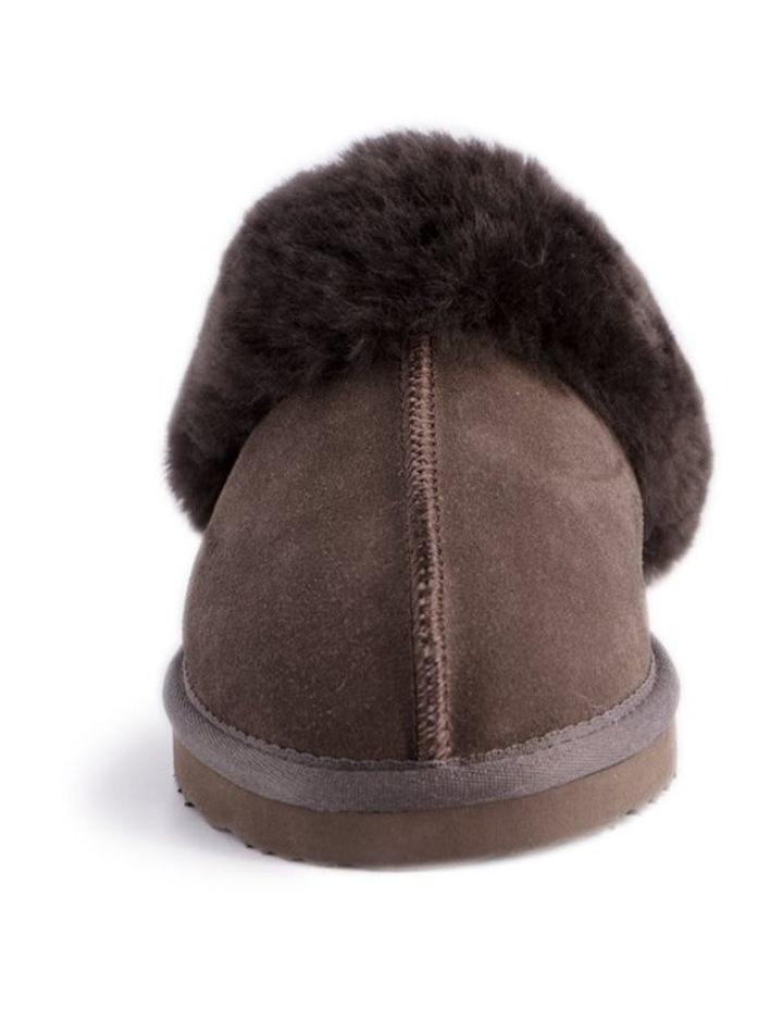 Unisex Sheepskin Wool Sydney Slippers - Chocolate image 5