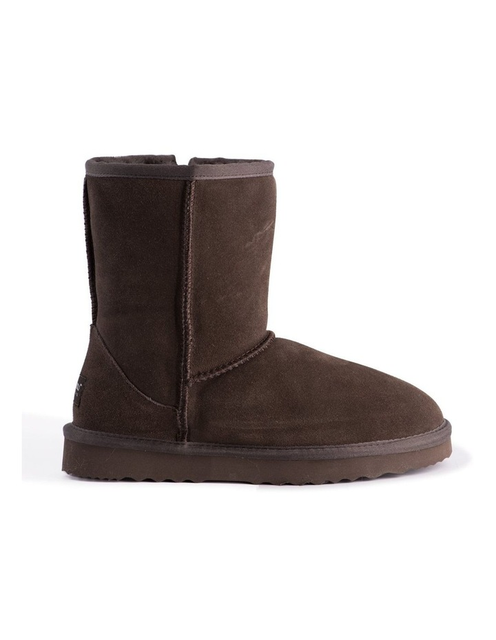 Mid Calf Sheepskin Boot - Chocolate image 7