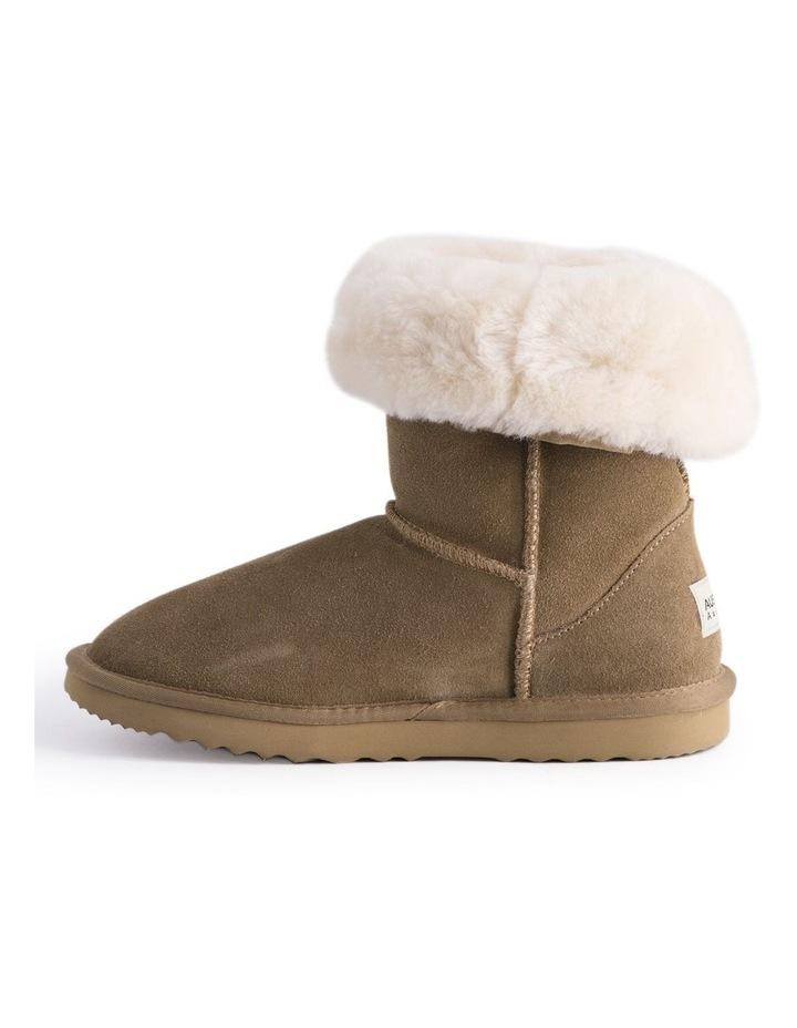 Mid Calf Sheepskin Boot - Chestnut/Tan image 5