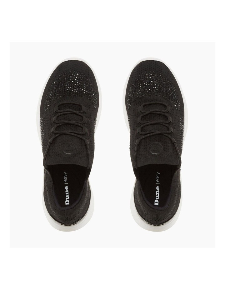 Easy Lace Up - Black image 3