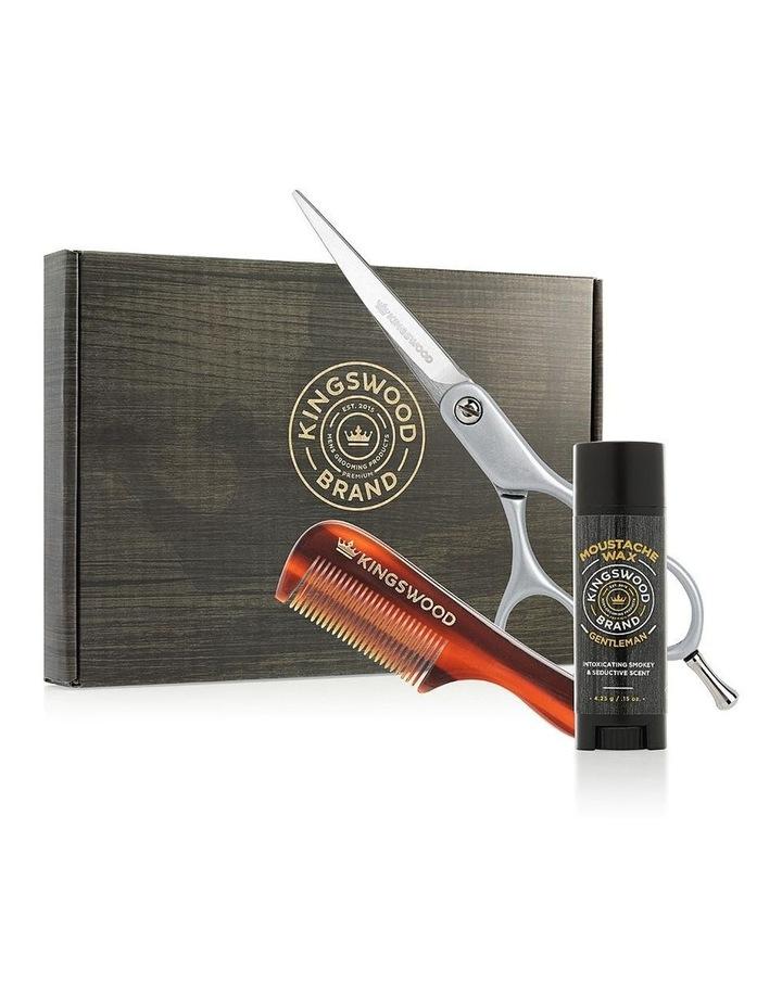 Moustache Wax Scissor And Comb Gift Set - Rogue image 1