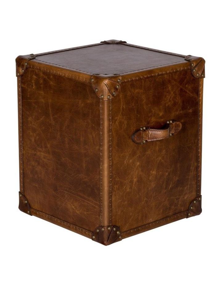 Trunk Antoine 3 Drawer Vintage Leather Cognac image 4