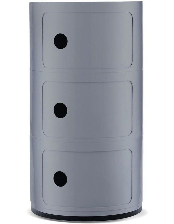 3-Draw Retro-Style Cylinder Tower image 1