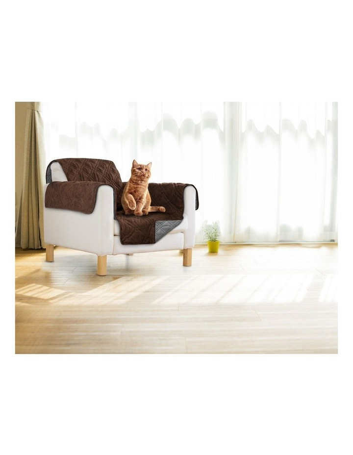 Sprint Industries Reversible Slipover Pet Couch Sofa Cover Protector image 1