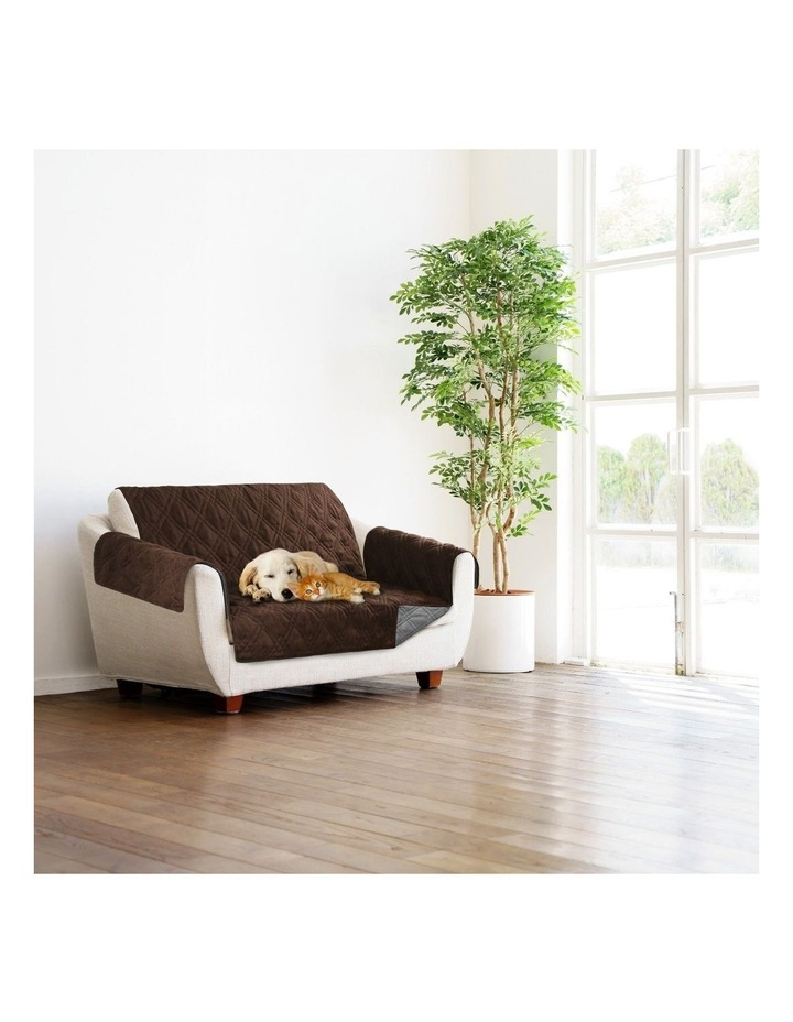 Sprint Industries Reversible Slipover Pet Couch Sofa Cover Protector image 2