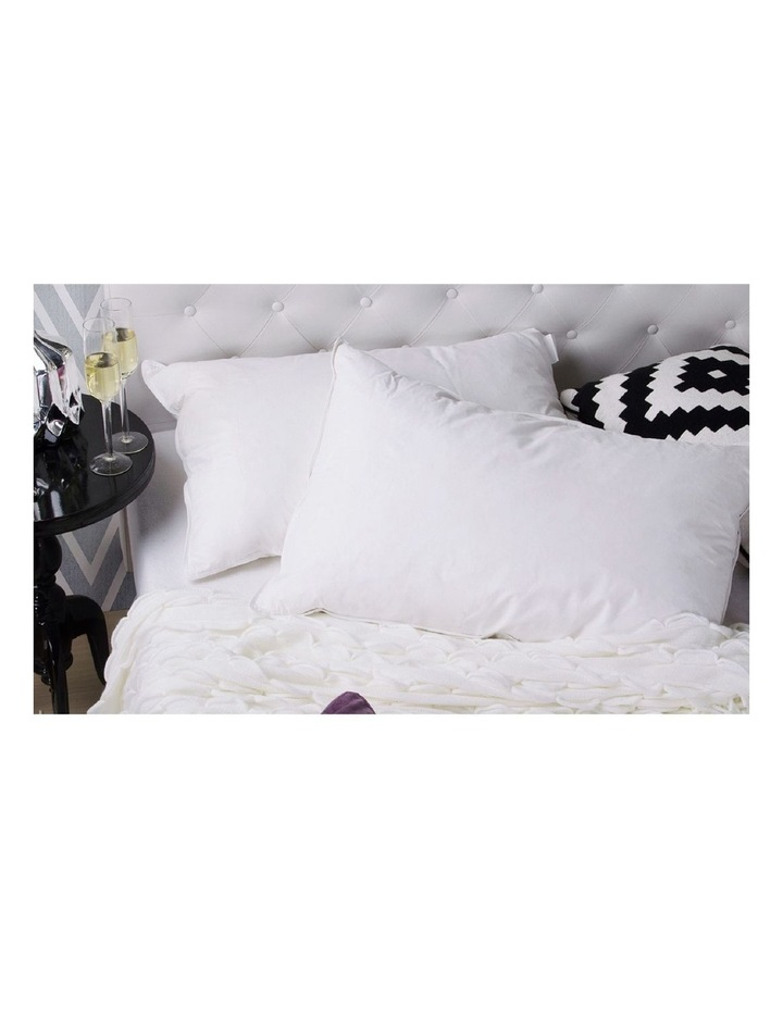 Royal Comfort 1000GSM Duck Feather and Down Pillows - Twin Pack image 2