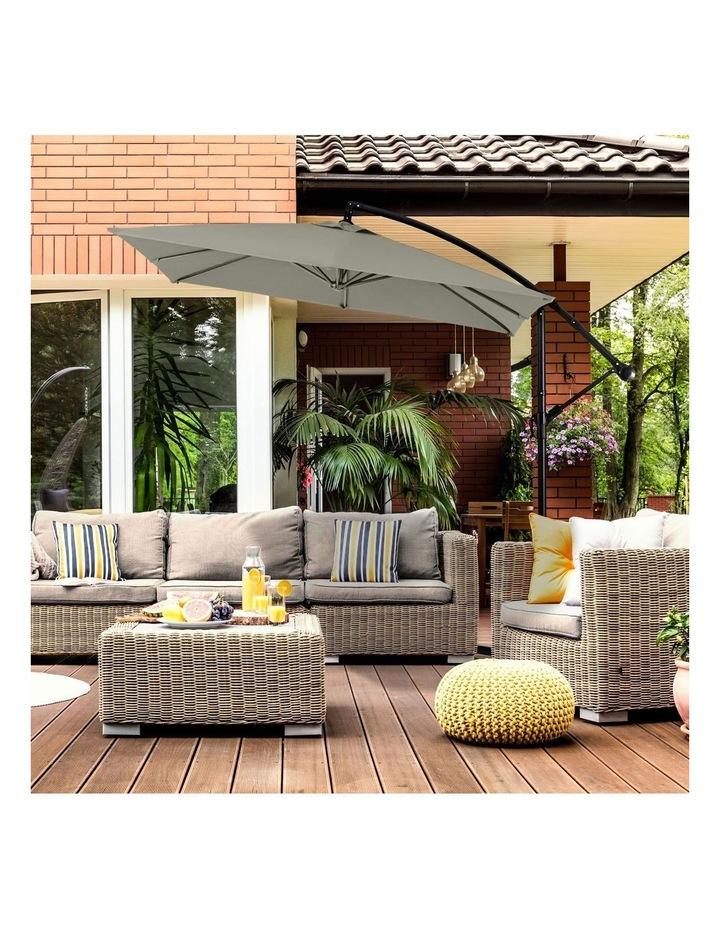 Outdoor 2.2 Meter Square Cantilever Umbrella image 5