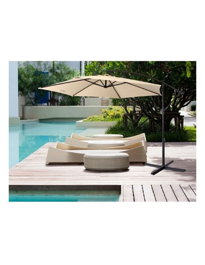 Outdoor 3 Meter Cantilever Umbrella - Various Colours image 1