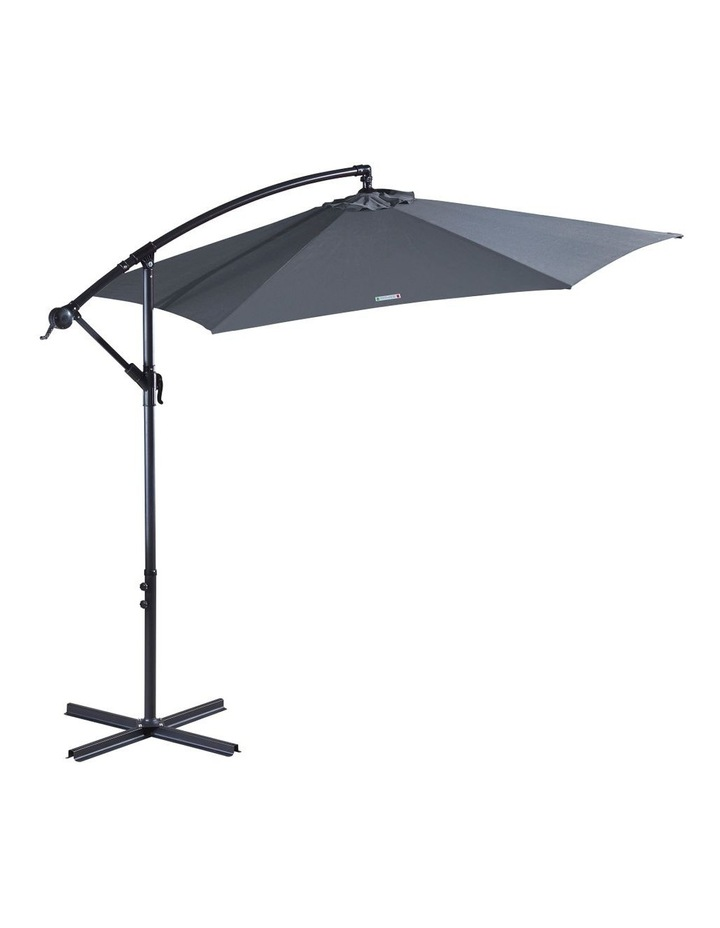 Outdoor 3 Meter Cantilever Umbrella - Various Colours image 2