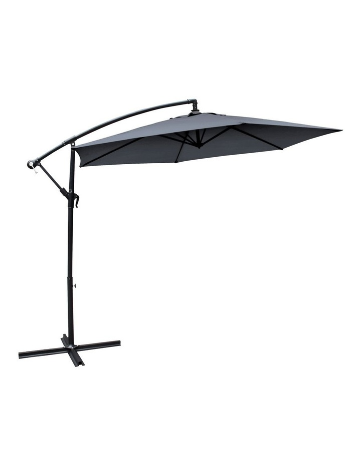 Outdoor 3 Meter Cantilever Umbrella - Various Colours image 3
