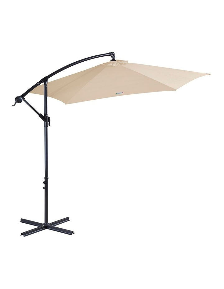 Outdoor 3 Meter Cantilever Umbrella - Various Colours image 6