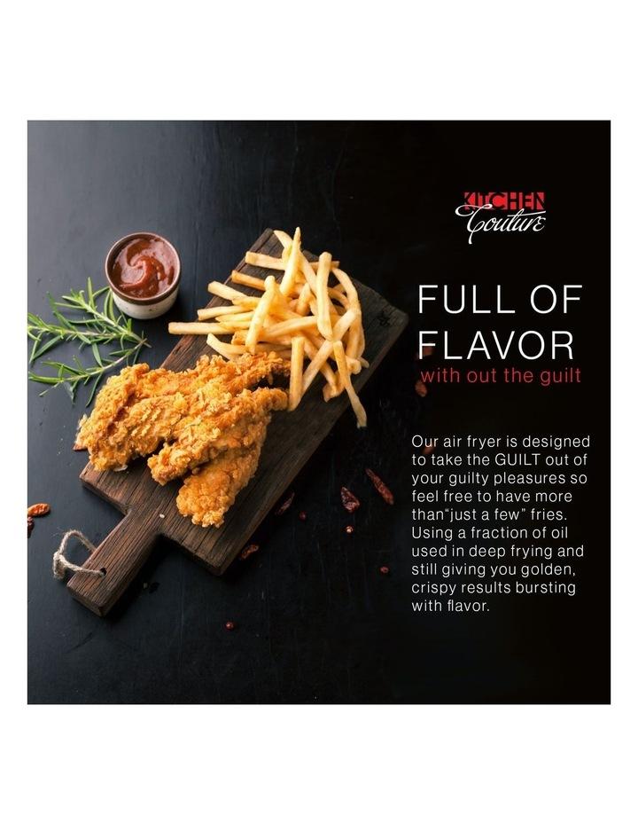 Air Fryer Healthy Food No Oil Cooking Recipe 3.4L Capacity Black image 4