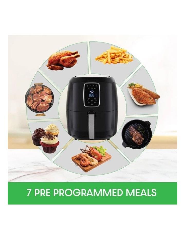 Digital Air Fryer 7L Black LED Display Healthy Oil Free Cooking image 3