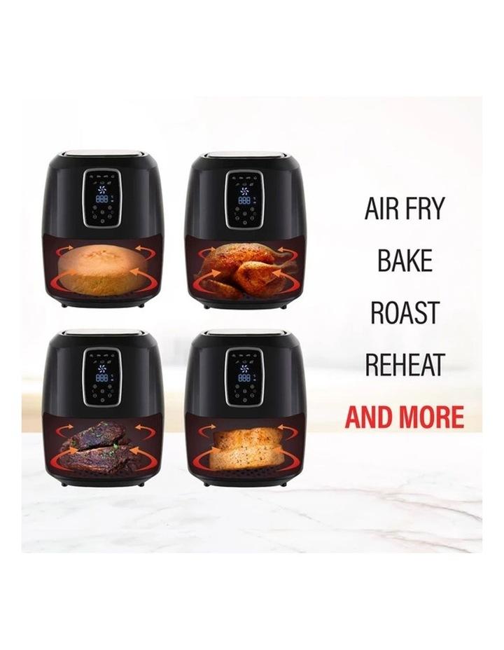 Digital Air Fryer 7L Black LED Display Healthy Oil Free Cooking image 4