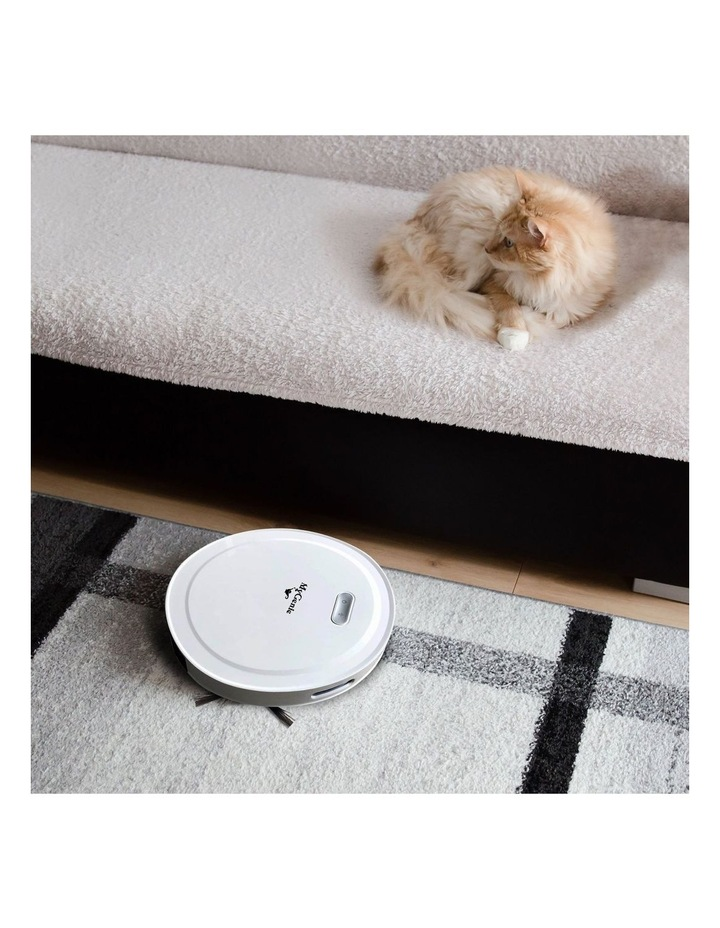 MyGenie Pet Smart Robotic Vacuum Cleaner - White image 2