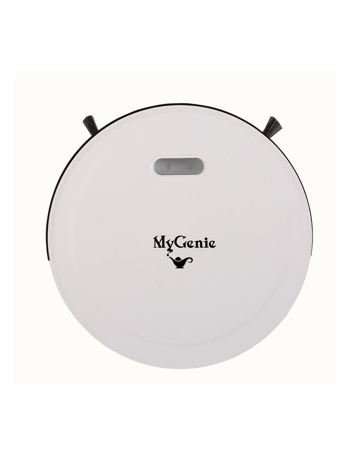 MyGenie Pet Smart Robotic Vacuum Cleaner - White image 3